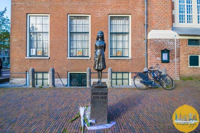 Amsterdam Anne Frank Evi