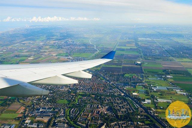Kuş bakışı Amsterdam