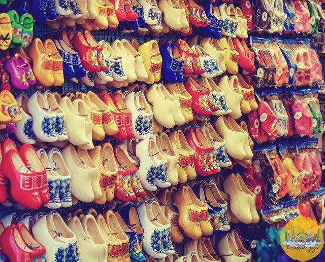 hollanda tahta ayakkabılar