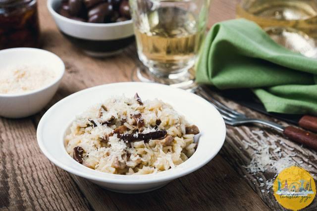 Italyan Risotto Yemeği